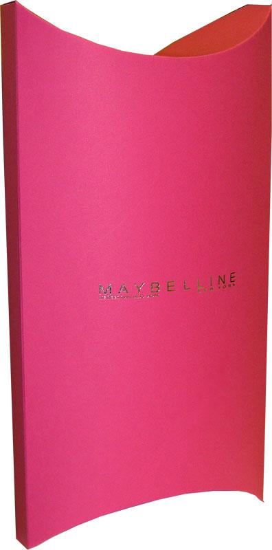"""Подарочная упаковка для косметики  """"Maybelline """".  Для изготовления этой..."""
